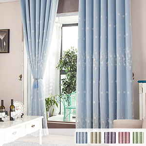 Drape and lace integrated curtain Princess system