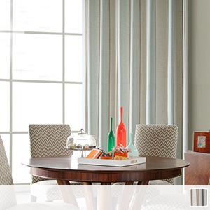 Elegant and beautiful striped drape curtain