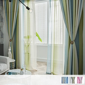 West Coast style curtain set, fashionable custom curtains