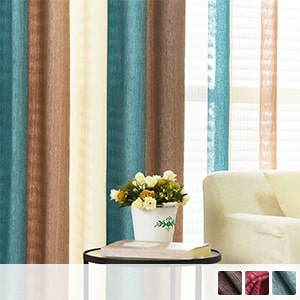 Drape curtains, American coloring stripes