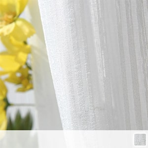 sheer curtains with refreshing striped pattern