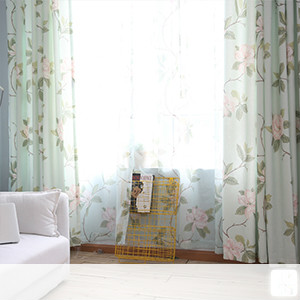 Lace curtains, elegant floral curtains