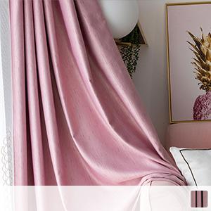 Drape curtain, branch-like pattern
