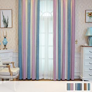 unique striped drape curtains