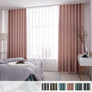 Drape curtains, woven plain curtains