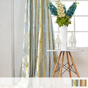 Drape curtain, combination of two-color vertical lines