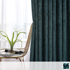 chenille drape curtain, full of luxury
