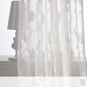 Lace curtains, gorgeous and beautiful arabesque pattern