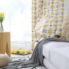 Bright Scandinavian curtains