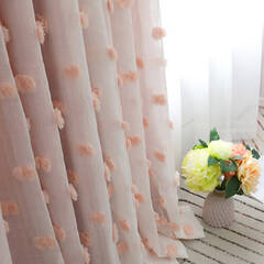 An integrated princess curtain that creates a soft atmosphere