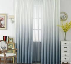 Gradient curtain set