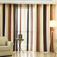 Chenille curtains