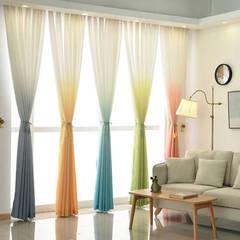 Beautiful gradient curtain set