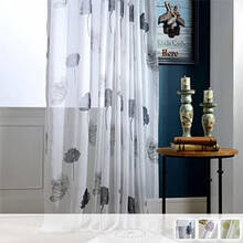 Sheer Curtains with an elegant lotus design